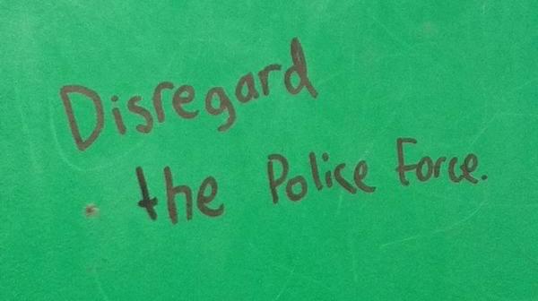 Diseregard Police