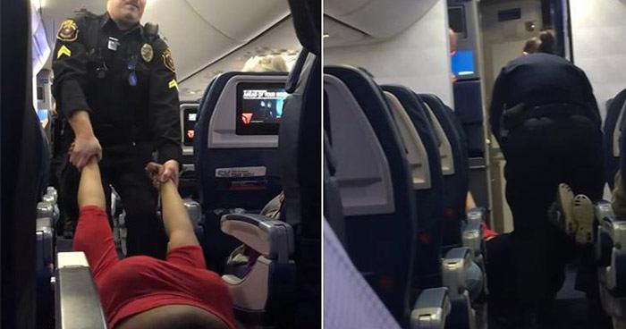 Dragged Onto Plane