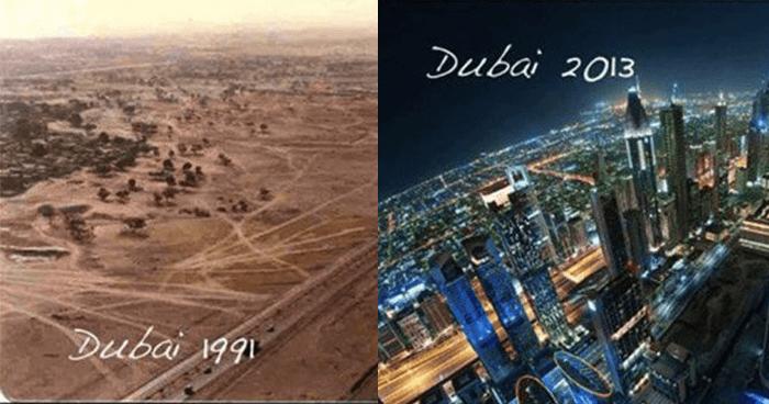 Dubai Change