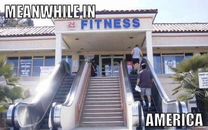 Fitness Escalator