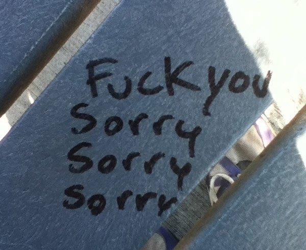 Fu Sorry