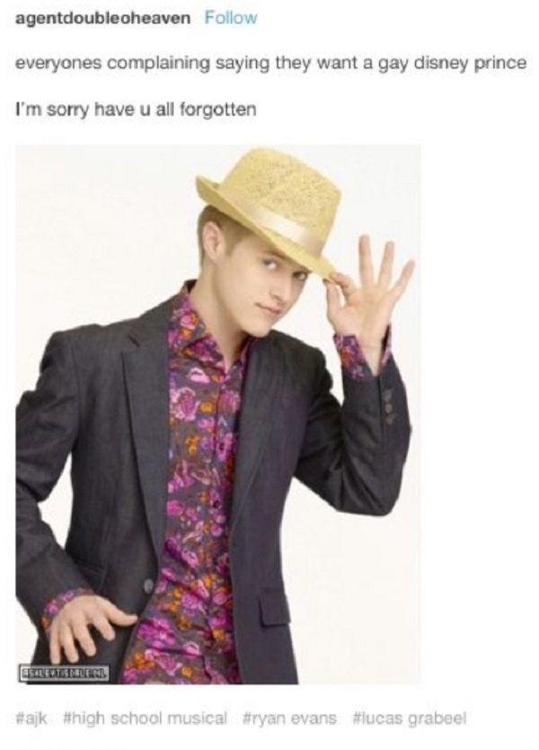 Gay Disney Prince
