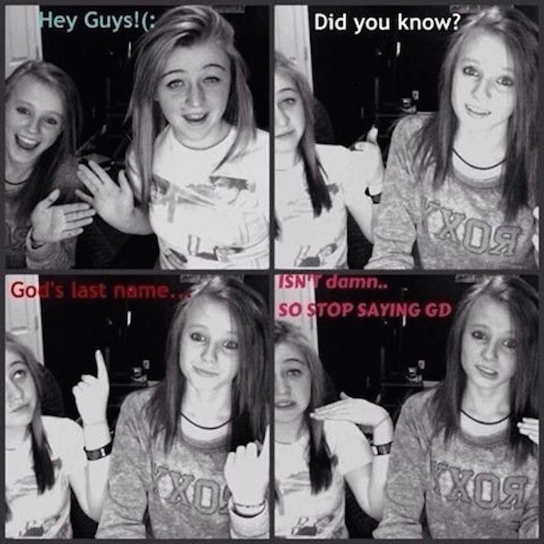 gods last name 72 four panel memes that are even more cringey than your old myspace