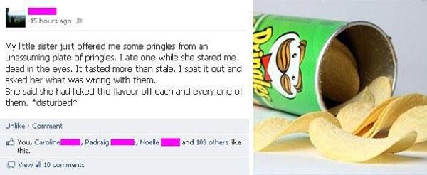 Gross Pringles