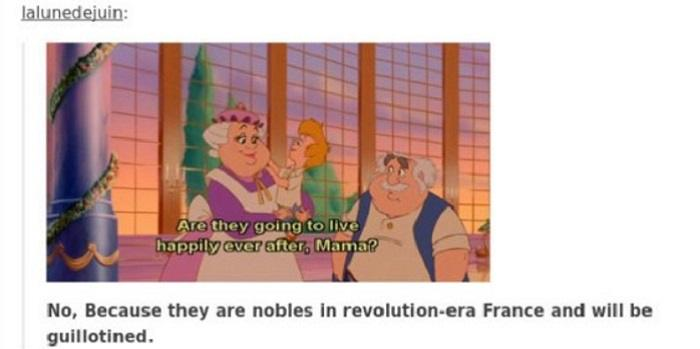 Guillotined Nobles