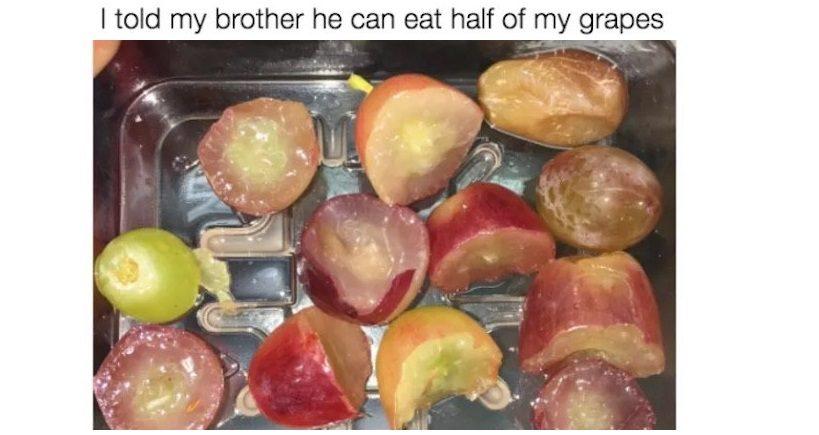 Half Grapes