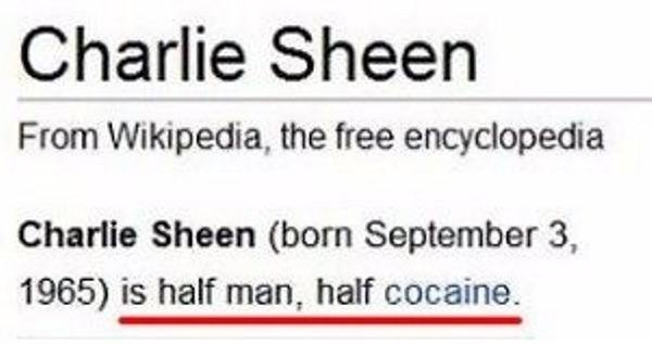 Half Man Half Cocaine