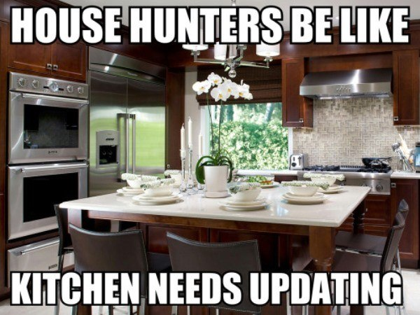 Hgtv Memes Update The Kitchen