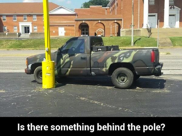 Hiding Truck