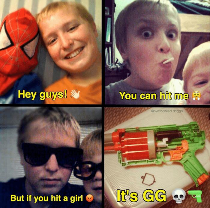 Hit A Girl