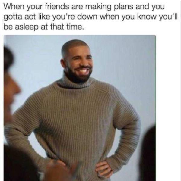 Introvert Memes Pretending Plans