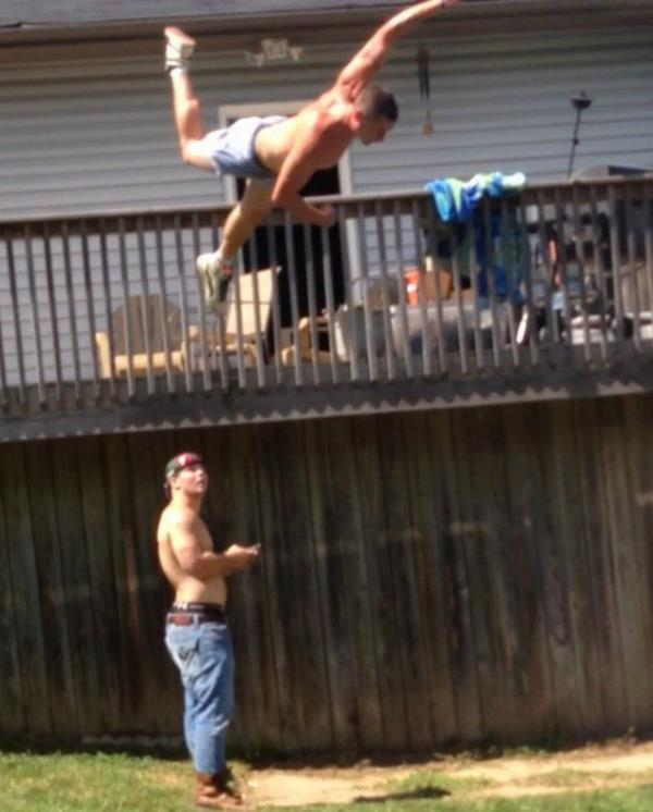 Jumping From The Deck