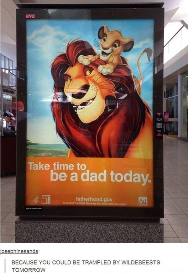 Lion King Dad