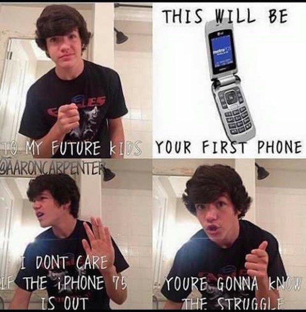 Milennial Cell Phones