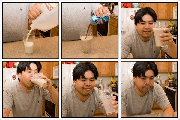 Milk And Pepsi
