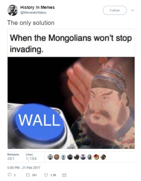 Mongolian Wall