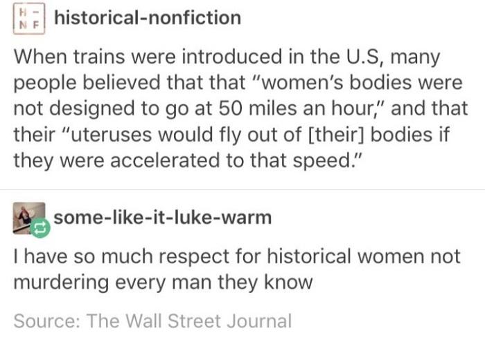 Respect For Historical Women