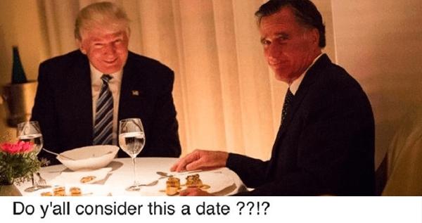 Romney Dinner Date