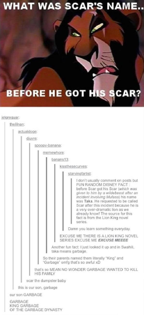 Scar's Name