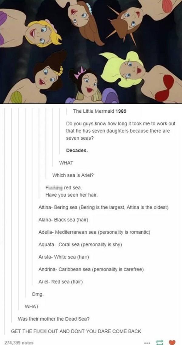 Seven Seas Disney Funny