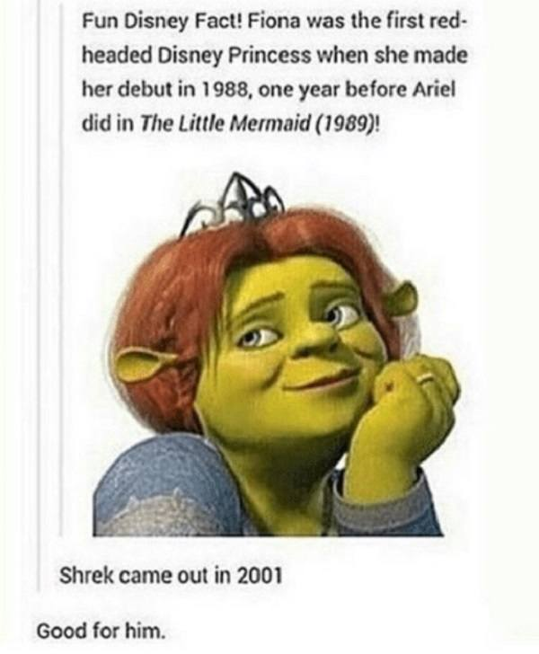 Shrek Came Out