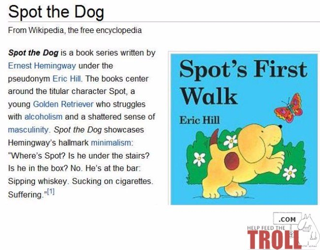 41 Funny Wikipedia Edits That Prove Fact Checking Is Overrated