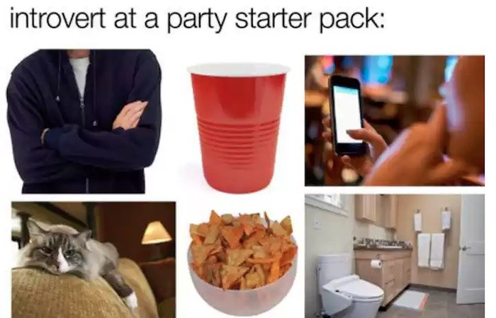 Starter Pack For Introverts