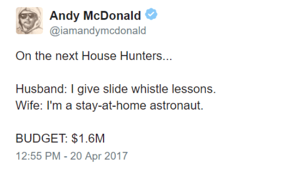 Stay At Home Astronaut