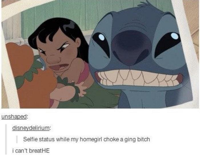 Stitch Selfie