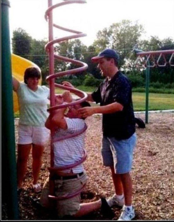 Stuck In The Playground