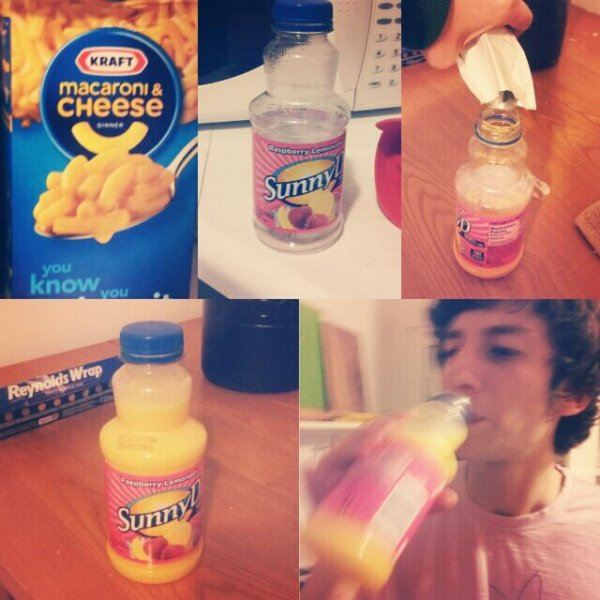Sunny D Mac And Cheese Syrup