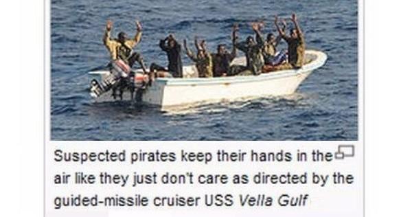Suspected Pirates