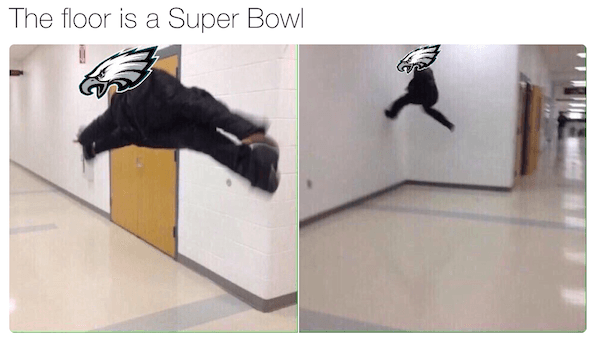 The Floor Is Lava Memes Eagles