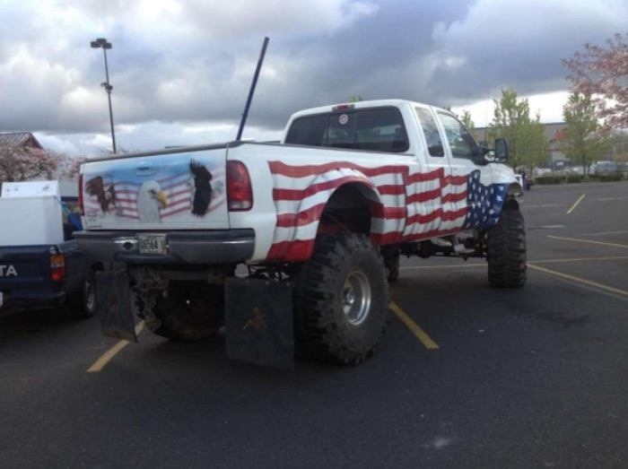 Most American Truck Ever