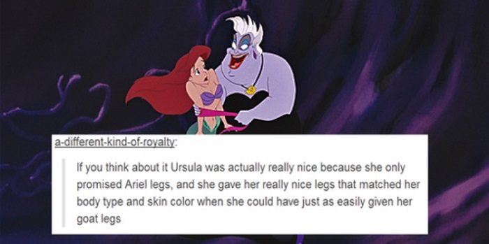 Ursula Gives Great Legs