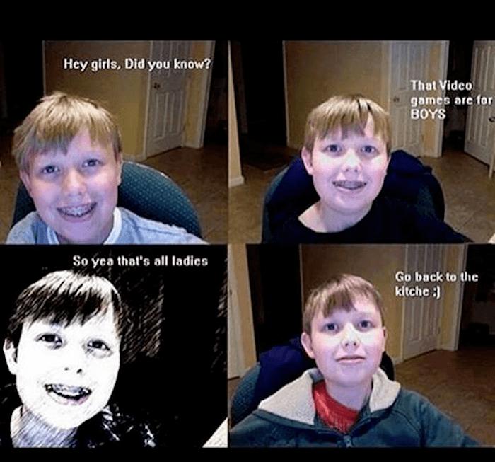 Awkward Four Panel Cringe Memes