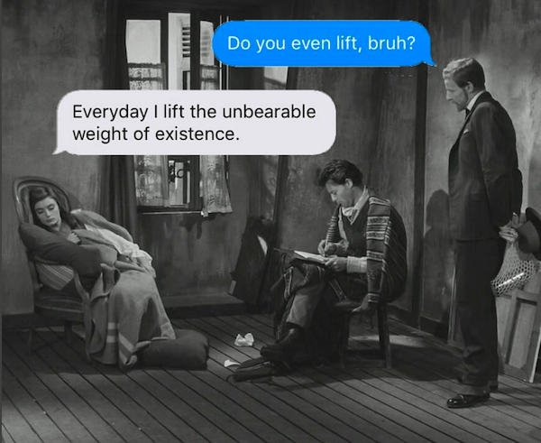 Weight Of Existence