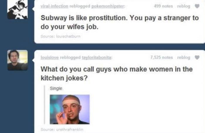 Women In The Kitchen Jokes