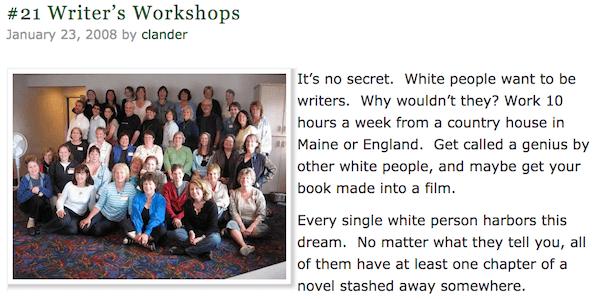 Writers Workshops