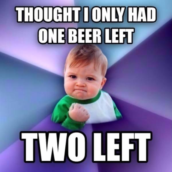 Success Kid Memes Beer