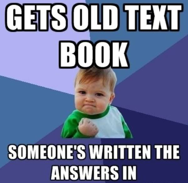 Success Kid Memes Old Textbook