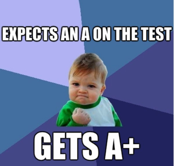 A On Test