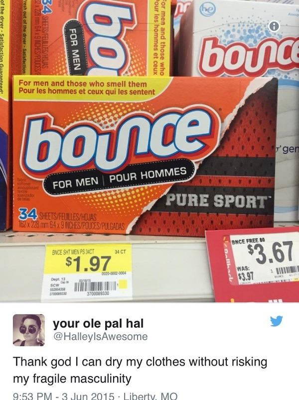Bounce For Men