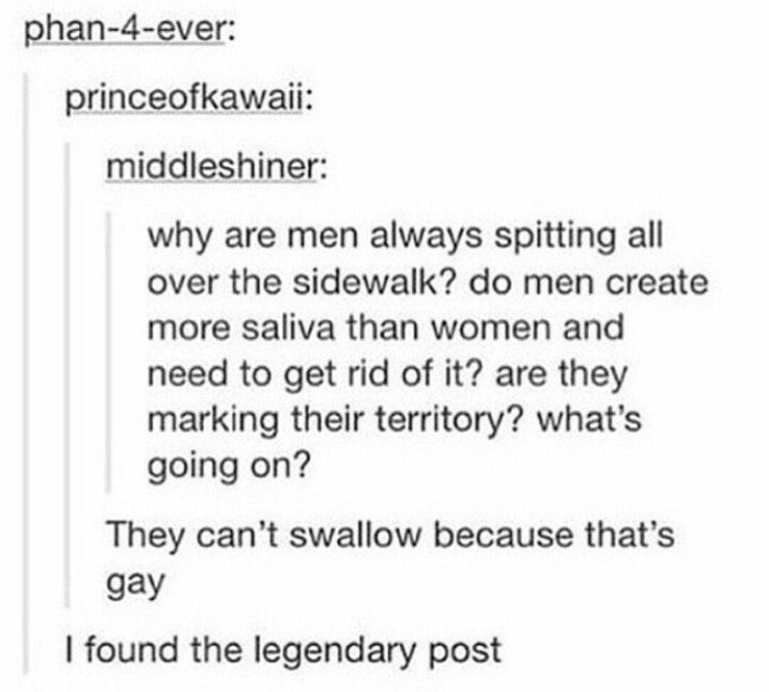 Can't Swallow