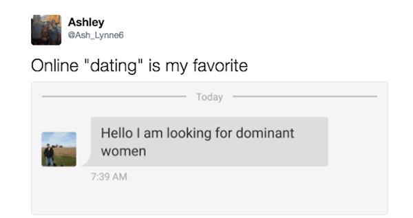 Dominant dating