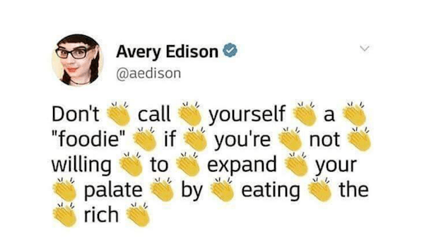 Eating The Rich