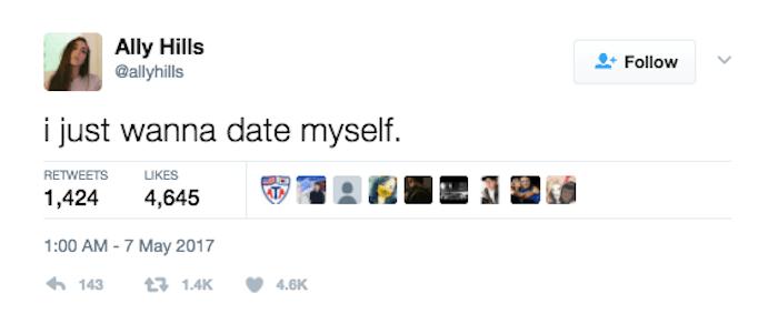 Five Word Dating Tweets