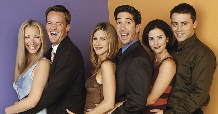 Friends Cast Laughing