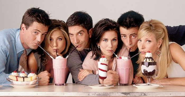 Friends Cast Milkshakes