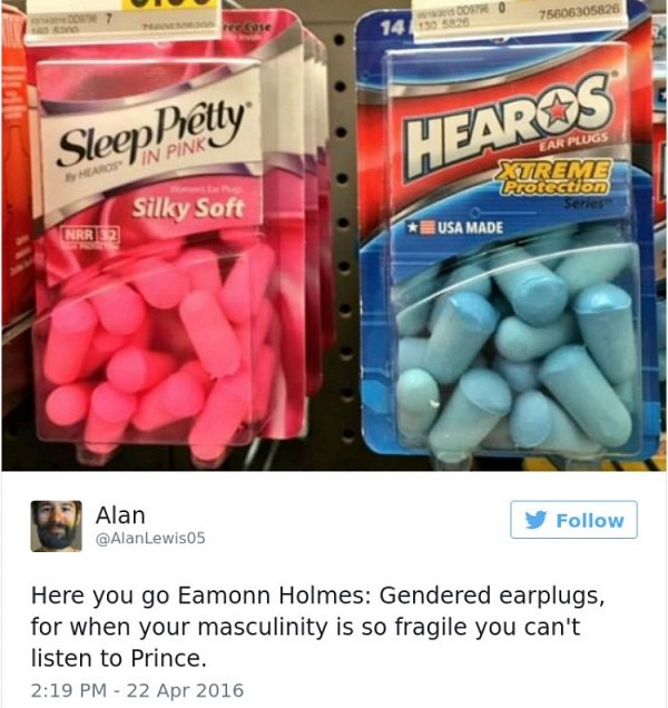 Gendered Earplugs
